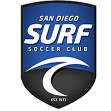 SD Surf Soccer Club Sub Games - 9/18 (2021) Logo