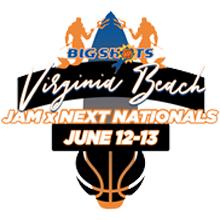 Big Shots Marriott Virginia Beach Oceanfront Jam X Next Nationals (2021) Logo