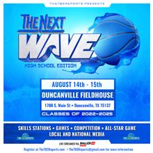 The Next Wave 2022-2023 (2021) Logo