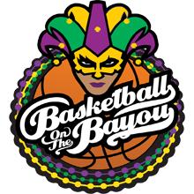 Basketball on the Bayou (2021) Logo