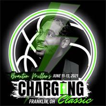 Braxton Miller's Charging Classic (2021) Logo