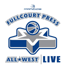 Fullcourt Press All-West Live (2021) Logo