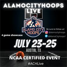 AlamoCityHoops LIVE (2021) Logo