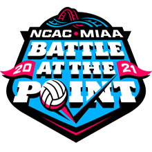 MIAA/NCAC Crossover - Battle at the Point (2021) Logo